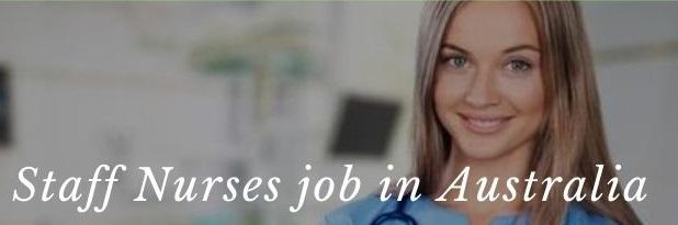 Nursing jobs in Australia for foreigners, Nursing Job Openings in Australia